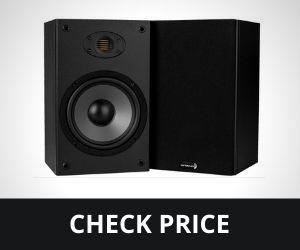 "Dayton Audio B652-AIR 6-1/2"" 2-Way Bookshelf Speaker with AMT Tweeter Pair"