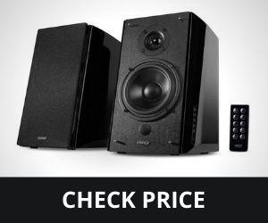 Edifier R2000DB 120 Watts Black Bluetooth Bookshelf Speakers