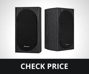 Pioneer SP-BS22-LR Andrew Jones Home Audio Bookshelf best lightweight for turntable