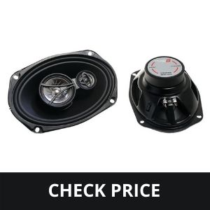 CERWIN VEGA XED693 6 x 9 Inches 350 Watts Max 3-Way Coaxial Speaker Set
