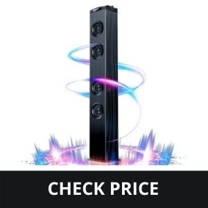 Floor Standing Bluetooth Tower Speaker, for Home Stereo System