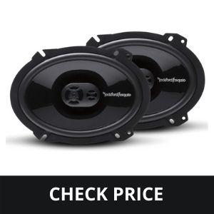 """Rockford Fosgate P1683 Punch 6""""x8"""" 3-Way Full-Range Speaker best budget car speaker"""