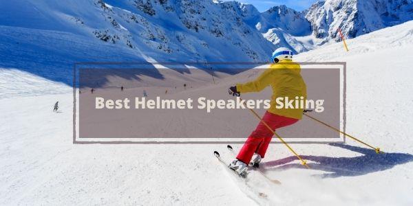 Best Helmet Speakers skiing